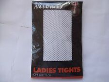 REAL HALLOWEEN/ LADIES TIGHTS/ WHITE WEB