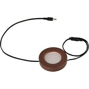 Maxim Lighting CounterMax MX-LD-D LED Disc in Anodized Bronze - 53860BRZ
