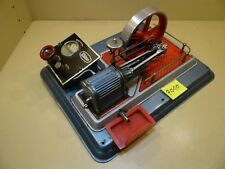 Komplettes Aggregat Wilesco D28el D28 aus den 60er Jahren / Dampfmaschine