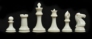 """The Fischer Series Plastic Chess Set - 4.0"""" King"""