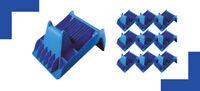 EPSS 10er Pack 150x185x60 mm Kantenschutzwinkel Blau aus Kunststoff max55mm Band