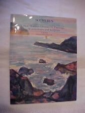 1992 SOTHEBY'S AUCTION CATALOG, MODERN CHINESE PAINTINGS, WATERCOLOR, ART #77381