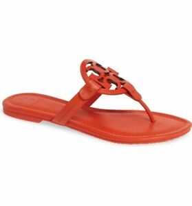Tory Burch  Miller Tejus Embossed Leather/ Calf Leather Sandals
