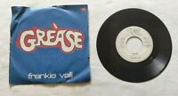 "GREASE 7"" FRANKIE VALLI 45 GIRI VINYL ITALY 1978 RSO AS5000483 VG+/EX"