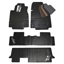 Honda Odyssey All Weather Rubber Floor Mats - 2005 - 2016 - Custom Fit Mats