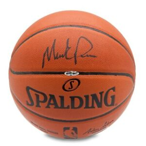 Mark Price Signed Autographed Spalding Basketball Cleveland Cavaliers UDA