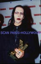 MARILYN MANSON 1990s DIAPOSITIVE DE PRESSE ORIGINAL VINTAGE SLIDE #35