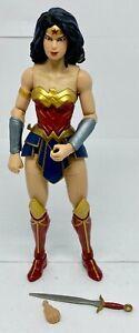 Mattel DC Multiverse Rebirth Wonder Woman Action Figure Used