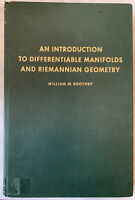 """""""An Introduction to Differentiable Manifolds and Riemannian Geometry"""" W.Boothby"""
