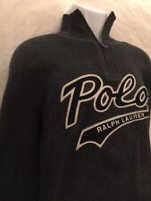 Polo By Ralph Lauren Half Zip Unisex Pullover. Size: M