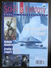 SCI-FI & FANTASY MODELS Magazine #41  VOYAGER, STARSHIP TROOPERS (2000, NM, 9.4)