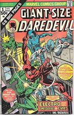 Giant-Size Daredevil Comic Book #1 Marvel Comics 1975 FINE+