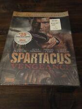 Spartacus: Vengeance DVD SEASON 2 Lucy Lawless Liam McIntyre Peter Mensah