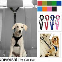Adjustable Dog Seat Belt Dog Harness Pet Car Safety Seat Belt Leash Leads New