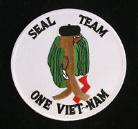 US NAVY UDT SEAL TEAM SEAL ONE 1 VIETNAM PATCH SPECIAL OPERATIONS SCUBA