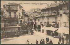 CUNEO BORGO SAN DALMAZZO 10 Cartolina viaggiata 1928
