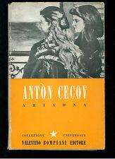 CECOV ANTON ARIADNA BOMPIANI 1943 I° EDIZ. CORONA 35