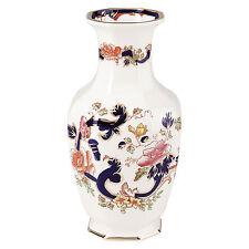 Mason's Ironstone Blue Mandalay Indian Vase