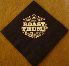 THE ROAST OF DONALD TRUMP COMEDY CENTRAL GOLD NAPKIN Presidential Nominee