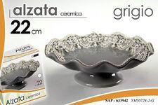 ALZATA IN CERAMICA CENTROTAVOLA GRIGIO 22 CM SAP-633942