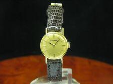 Eterna 18kt 750 Gold Handaufzug Damenuhr / Kaliber 1435 K