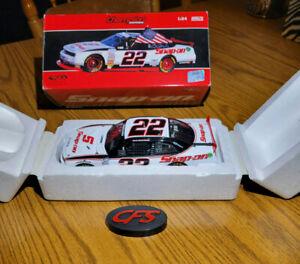 NASCAR Diecast 1:24 CFS Champion Series 2012 Brad Keselowski #22 Snap-On