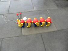 Kleinkinder- Spielzeug, Nachziehtier, Raupe, Fisher Price, bewegliche Teile