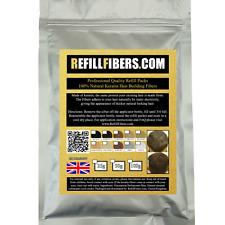 Recambio fibras GB KERATINA sujeción Cabello Espesantes 25g 50g 100g 200g 500g