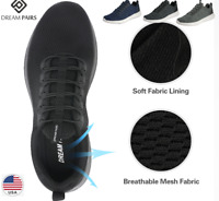 DREAM PAIRS Mesh Sneakers Sports Casual Shoes Mens & Womens Lightweight Trainer