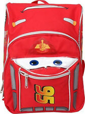 "Disney Cars McQueen Mini Size School Backpack 3D Shape 10"" Boys Book Bag"