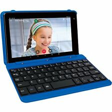 "RCA Voyager Pro 16GB 7"" Touchscreen Quad-Core Android 6.0 Tablet + Keyboard BLUE"