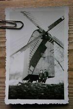 Windmühle mit Kriegsmarine Soldaten  Mühle und Matrosen (9x6)  Original Foto