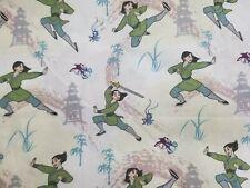 Disney Mulan High Kick Training Fabric 9