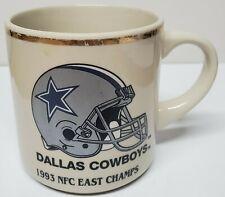 Vintage 1993 NFC East Champs DALLAS COWBOYS coffee mug CUP