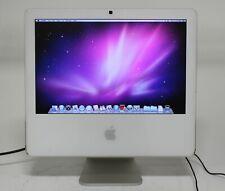 "Apple iMac A1173 17"" Core Duo 1.83GHz 1GB 320GB OSX 10.6.8 AIO; EXP 666323"