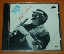 Phil Woods & Space Jazz Trio - Phil's Mood - 1990 Philology Label CD