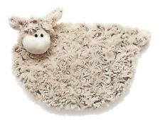 Plüsch Ovis Plüsch Schaf Traubenkernkissen mit Füllung Kuscheltier braun Lamm