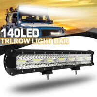 20 Inch 420W LED Work Light Bar Flood Spot Combo Offroad Car Truck Driving  W