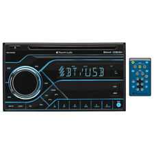 Planet Double Din MP3/CD/AM/FM Receiver Bluetooth Multi Color Display PB475RGB