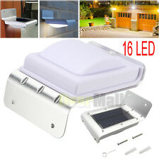 16 LED Solar Power Motion Sensor Garden Security Lamp Outdoor Waterproof Light