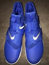 Nike Air Libron Zoom Soldier 12 Blue New Men's Size 16 Nba Nwob