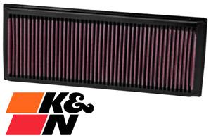 K&N REPLACEMENT AIR FILTER FOR AUDI Q3 8U CCZC CPSA CULB TURBO 2.0L I4