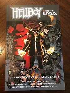 Hellboy and the BPRD The Beast of Vargu softcover AUTOGRAPHED by Mike Mignola
