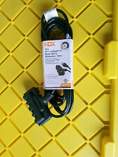 New HDX 15ft Indoor/Outdoor Multi-Outlet Extension Cord