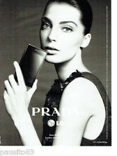 PUBLICITE ADVERTISING 066  2012  Prada  telephone mobile LG Daria Werbowy