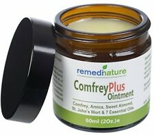 Remedinature Comfrey Plus Ointment 60ml: Muscle Joint Arthritic Knee Back Balm,