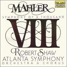 "MAHLER: SYMPHONY NO. 8 ""SYMPHONY OF A THOUSAND"" [MAHLER, GUSTAV] NEW CD"