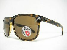 RAY BAN RB4147 710/57 Havana / Brown Polarized 60mm NEW AUTHENTIC SUNGLASSES