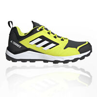 adidas Mens Terrex Agravic TR Trail Running Shoes Trainers Sneakers Black Yellow