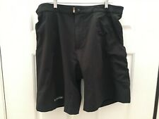 New listing Pearl Izumi Men's Shorts With Padded Liner Cycling Mountain Bike Size L Black